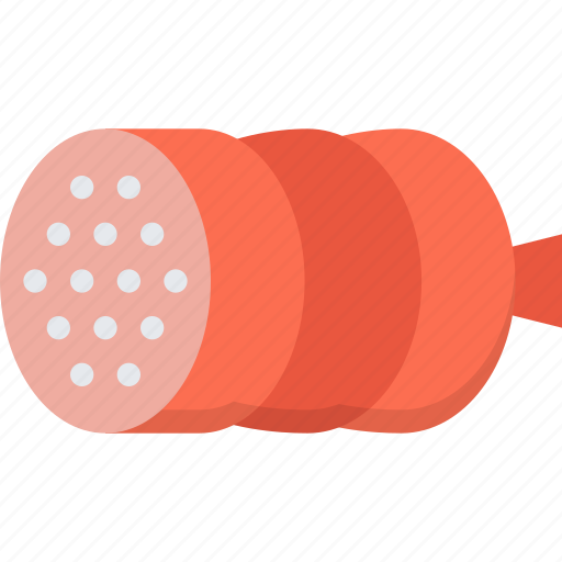 cooking, food, product, sausage, shop, supermarket icon