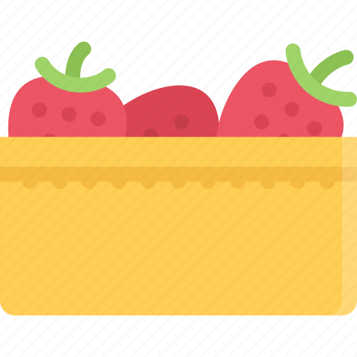 cooking, food, fruit, product, shop, strawberry, supermarket icon