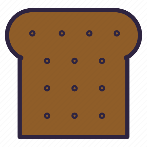 Bread, food, rooty, soft tack, toast, breakfast, cooking icon - Download on Iconfinder