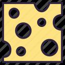 camembert, cheese, chevre, feta, food, gastronomy, mozzarella icon
