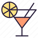 alcohol, beverage, cocktail, drink, food icon