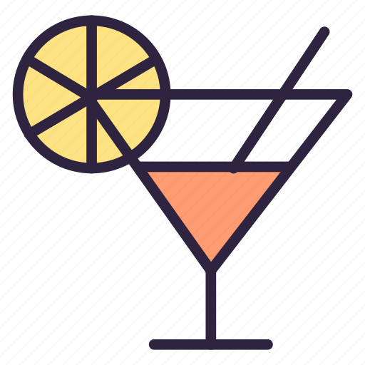 alcohol, beverage, cocktail, drink, food, glass, restaurant icon