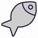 eat, fish, food, fried, fried fish, meal, seafood icon