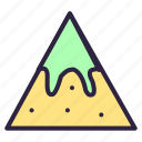 chip, chips, food, mexican snack, nachos icon