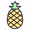 ananas, dessert, food, fruit, healthy, pine, pineapple icon