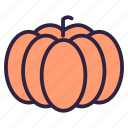 food, fruit, gourd, healthy, pumpkin, squash, vegetable icon