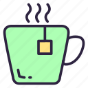 cup, cup of tea, drink, food, healthy, hot, tea icon