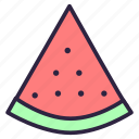 berry, dessert, food, fruit, healthy, melon, watermelon icon