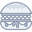 burger, eating, fastfood, food, junk icon