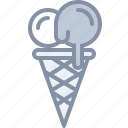 desert, eating, food, icecream icon