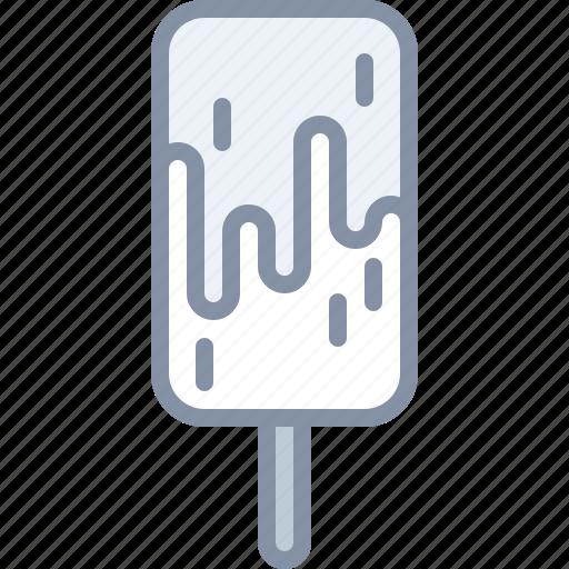 desert, eating, food, icecream, stick icon