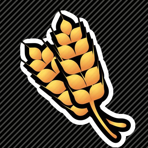 crops, farm, food, wheat icon