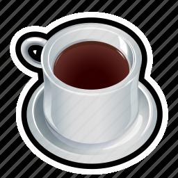 coffee, cup, food, liquid icon