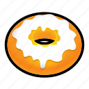 candy, donut, doughnut, food, sugar icon