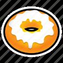candy, donut, doughnut, food, sugar
