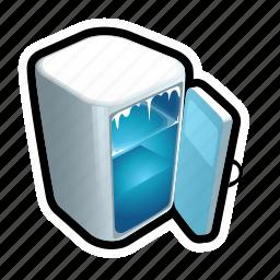 cold, food, fridge, frozen, ice icon