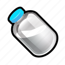 bottle, food, milk icon