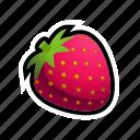 food, fruit, strawberry