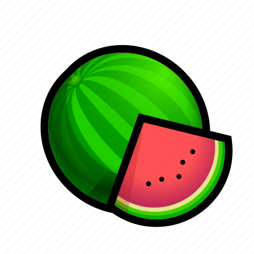 food, fruit, watermelon icon