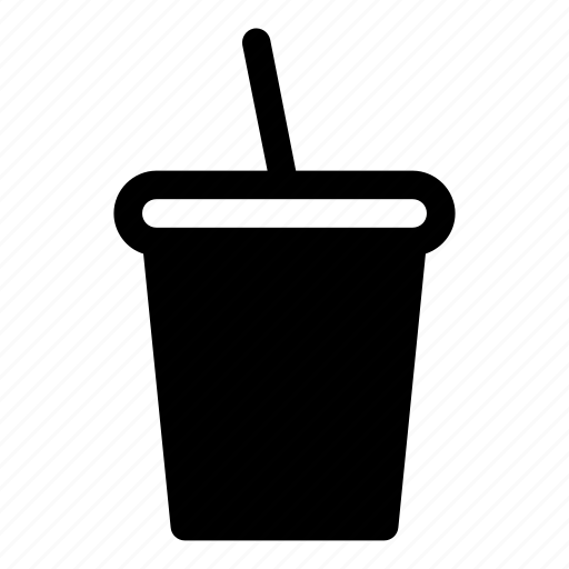 cola, cold drink, disposable cup, drink, food, paper cup, tubule icon