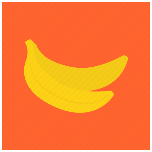 banana, eat, food, fresh, fruit, healthy icon
