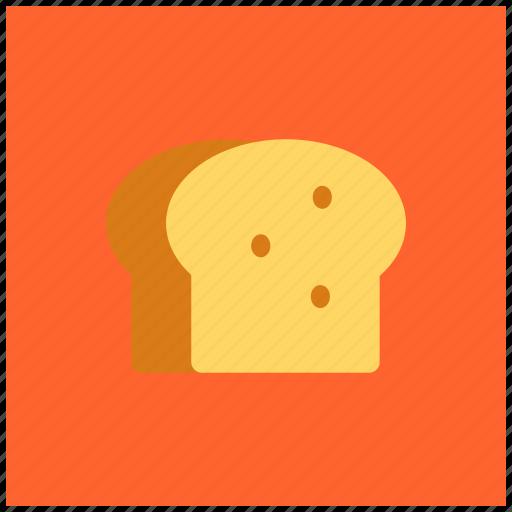 bake, bakery, bread, gluten, loaf, slice, wheat icon
