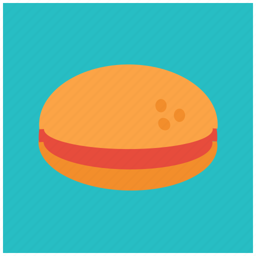 burger, fast, food, hamburger, junk, restaurant, sandwich icon