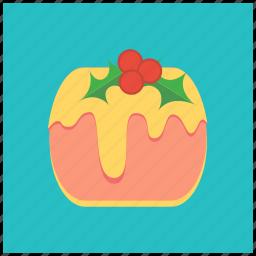 berries, cake, celebration, cheese, christmas, dessert, treat icon