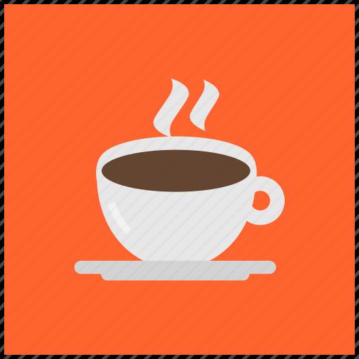 beverage, coffee, cup, drink, espresso, hot, saucer icon