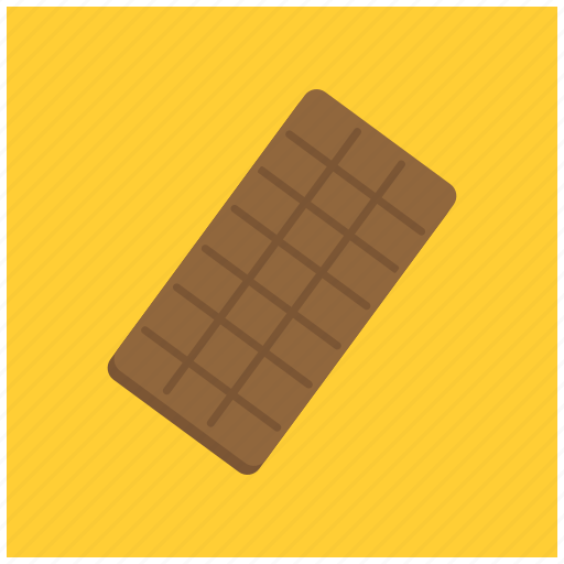 bar, candy, chocolate, dark, dessert, sweet icon