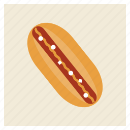 dinner, fastfood, food, hamburger, hotdog, junk, meal icon