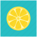 food, fruit, healthy, lemon, lime, vegan, yellow icon