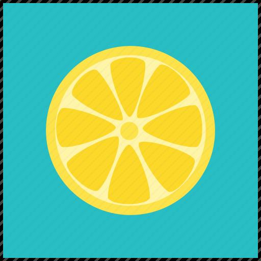 food, fruit, healthy, lemon, lime, vegan, yellow icon