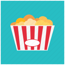 cinema, cup, movie, popcorn, snack, theater icon