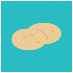 carbs, food, potato, starch, sweet, vegetable icon