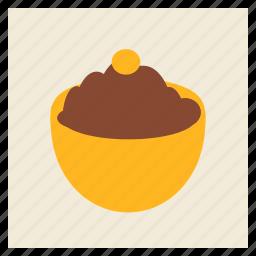 chocolate, cream, dessert, icecream, sugar, sweet, treat icon