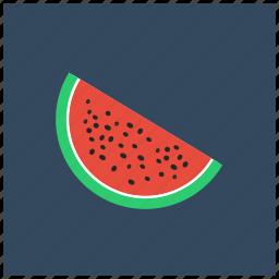 fruit, juicy, melon, vegan, vegetable, watermelon icon