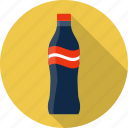 beverage, bottle, cola, drink, food, glass, soda icon