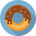 bakery, dessert, donut, doughnut, food, restaurant icon