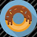 donut, bakery, dessert, doughnut, food, restaurant