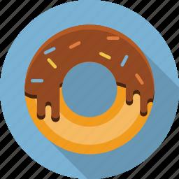 bakery, dessert, donut, doughnut, food, restaurant icon