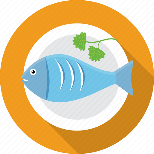 fish, food, restaurant, salmon, sea, seafood, tuna icon