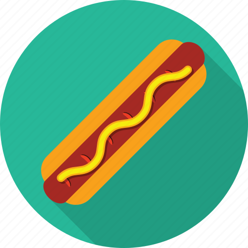 dog fast food food hot hot dog hotdog hotdog icon