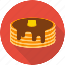 bakery, cake, chocolate, dessert, food, pancake, pie icon