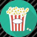 popcorn, restaurant, food, movie, cinema, entertainment, pop corn