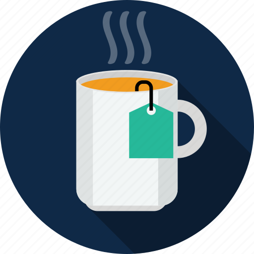 beverage, cup, drink, glass, hot, tea icon