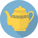 teapot, tea pot, cup, tea, porcelain, drink, glass