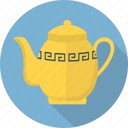 cup, drink, glass, porcelain, tea, tea pot, teapot icon