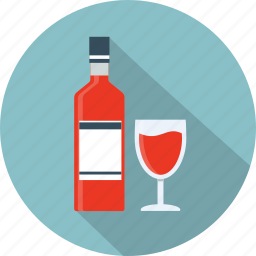 alcohol, beverage, bottle, drink, wine, wine glass, wineglass icon