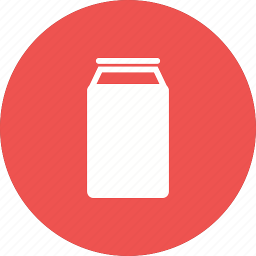 beverage, can, cola, drink, soda, tin, water icon